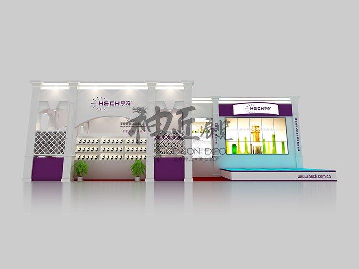 成都糖酒会展览设计公司图片